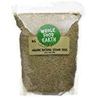 Wholefood Earth Organic Hulled Sesame Seeds, 1 kg