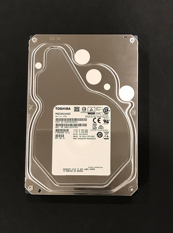 Amazon.com: Toshiba MG03ACA400 4TB 7200RPM 3.5-Inch/ SATA3/SATA 6.0 GB/s  64MB/ Enterprise Hard Drive: Computers & Accessories