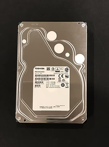 Toshiba MG03ACA400 4TB 7200RPM 3.5-Inch/ SATA3/SATA 6.0 GB/s 64MB/ Enterprise Hard Drive SATA at amazon