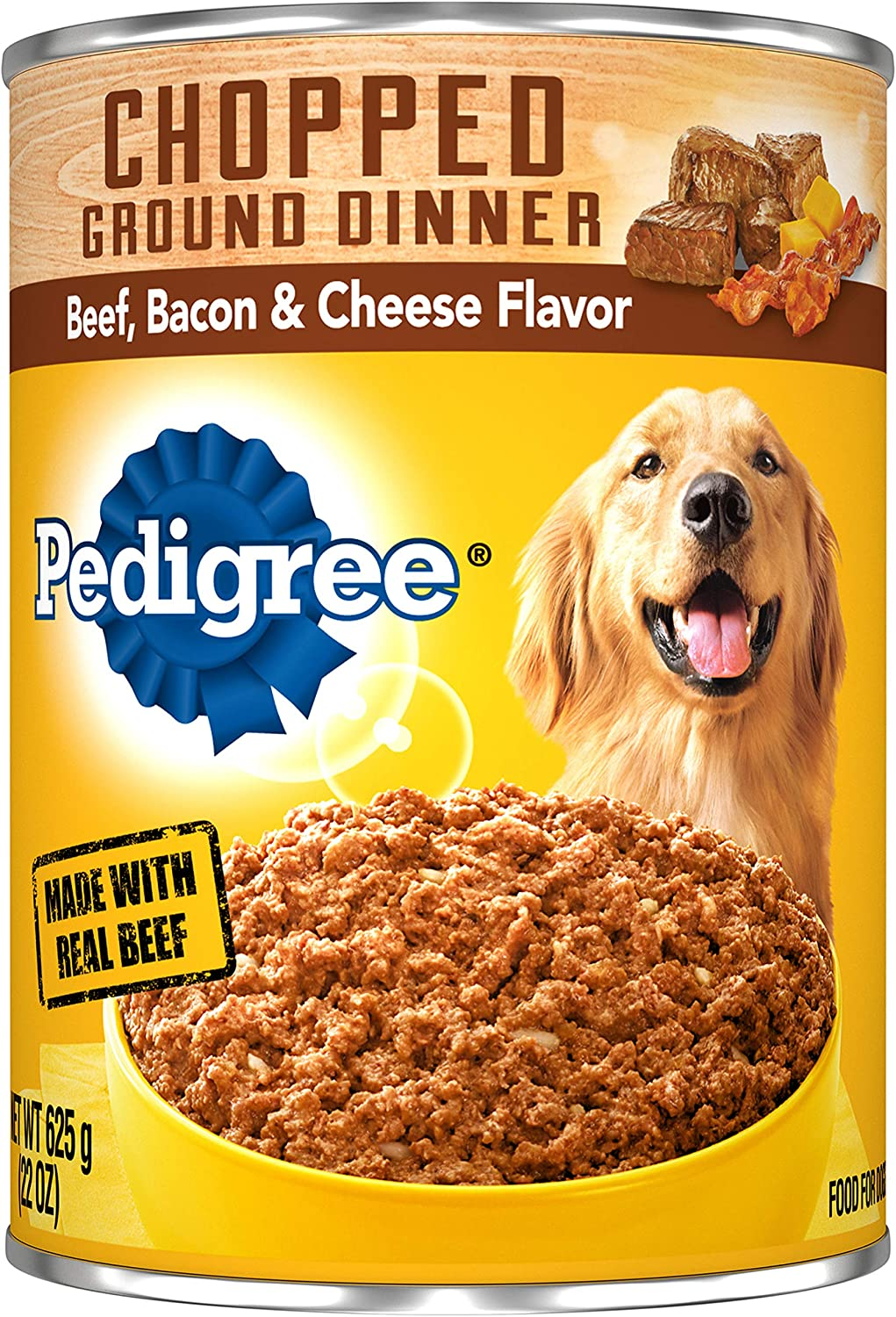 Best Canned Dog Food >> Pedigree Chopped Ground Dinner Wet Dog Food 22 Oz Cans Pack Of 12