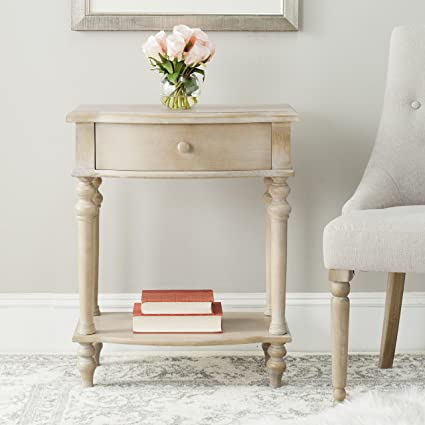 Safavieh American Home Collection Rosanna Grey Side Table