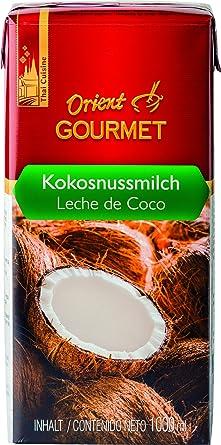 Orient Gourmet Leche de Coco, Contenido de Grasa 17-19% - 12 Tetra