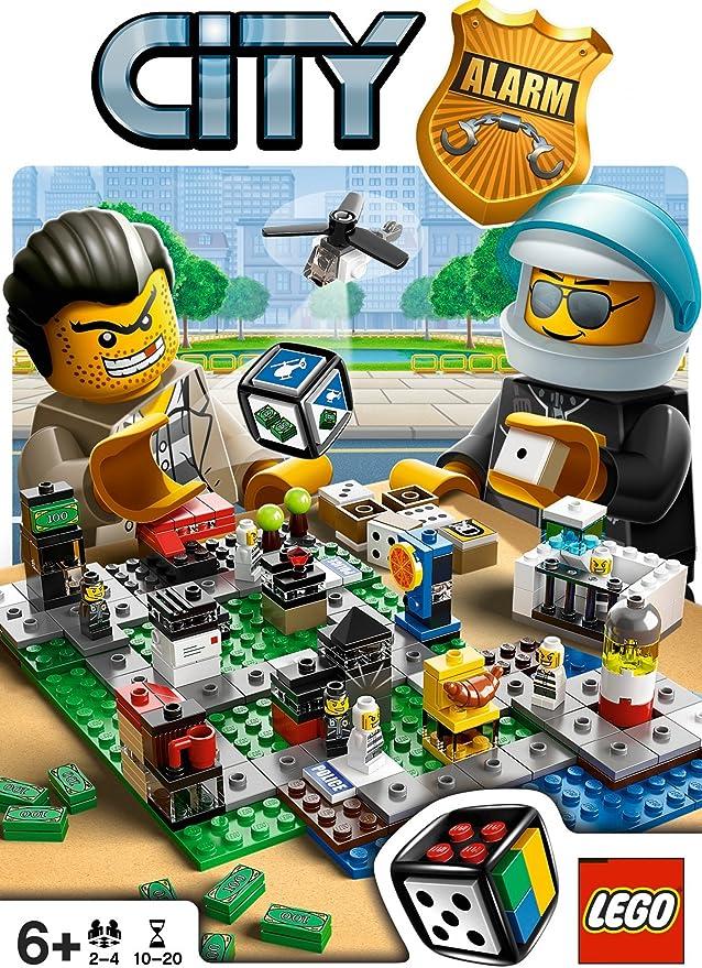 LEGO City Alarm - Juego de Tablero (De plástico, Multi): Amazon.es: Juguetes y juegos