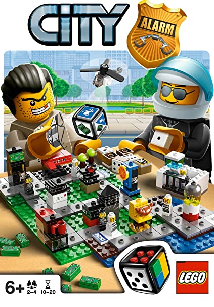 Amazon.com: Lego Games City Alarm - 3865: Toys & Games
