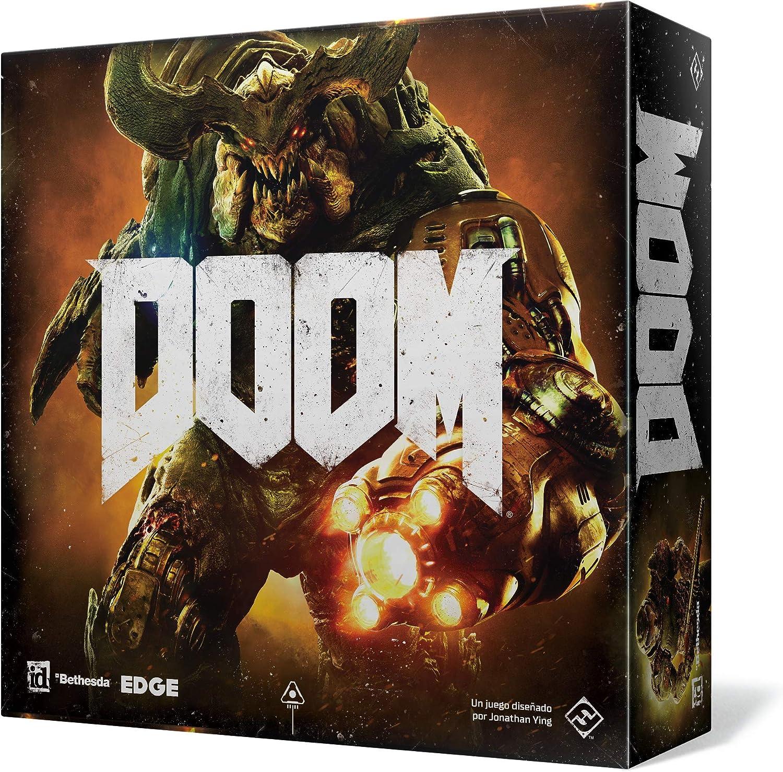 Fantasy Flight Games Doom El Juego de Tablero (FFZX01): Amazon.es ...