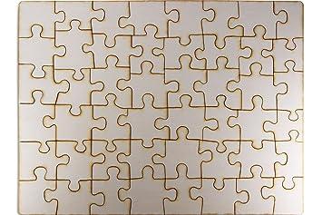 Blanko Puzzle Holz Zum Individuell Gestalten Bemalen Leeres