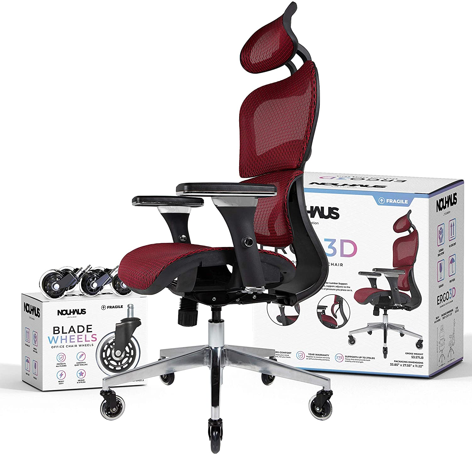 91WybTWbY2L. AC SL1500 - What is The Best Computer Chair For Long Hours Sitting? [Comfortable and Ergonomic] - ChairPicks