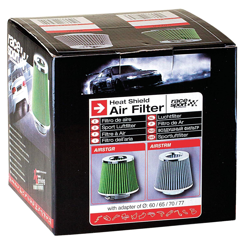 Race Sport Bagues Filtre � Air Universel Stream Air Vert
