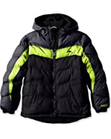 Pacific Trail Little Boys' Puffer Coat with Fleece Lining