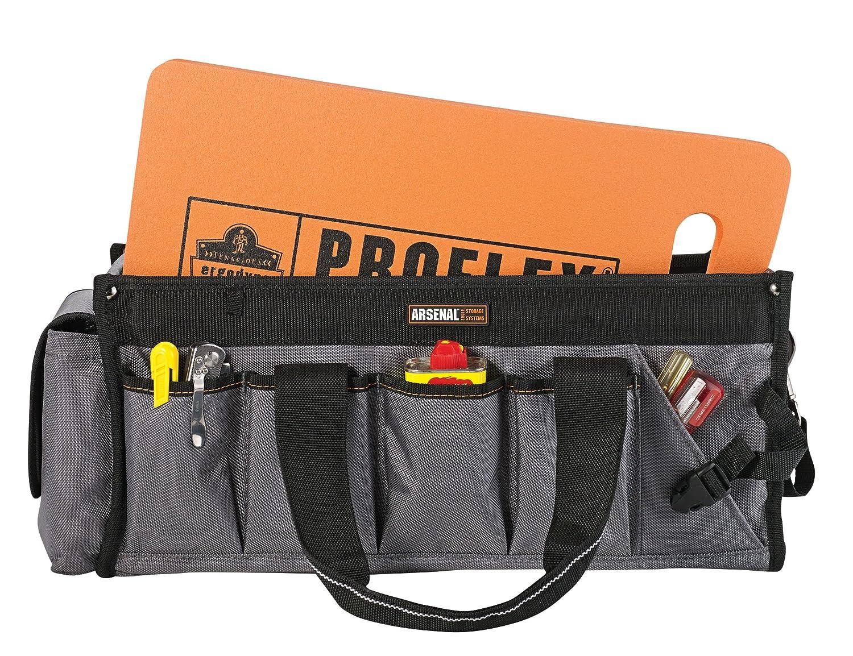 Cushions and Protects for Static Kneeling Black 16 x 28 x 1 Ergodyne Proflex 385 Multi-Functional Foam Kneeling Pad