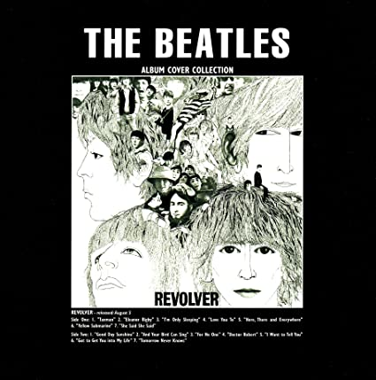 The Beatles Open Revolver Greeting Card