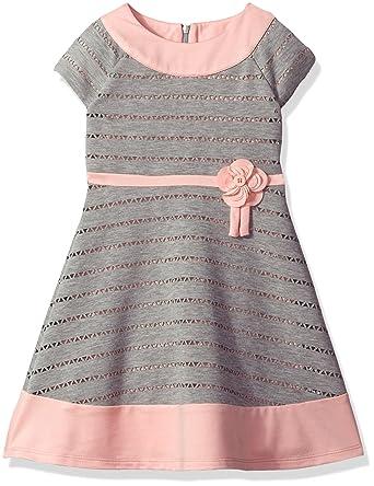 8f1f48486af Amazon.com  Little Angels Girls  Colorblock Cap Sleeve Dress  Clothing