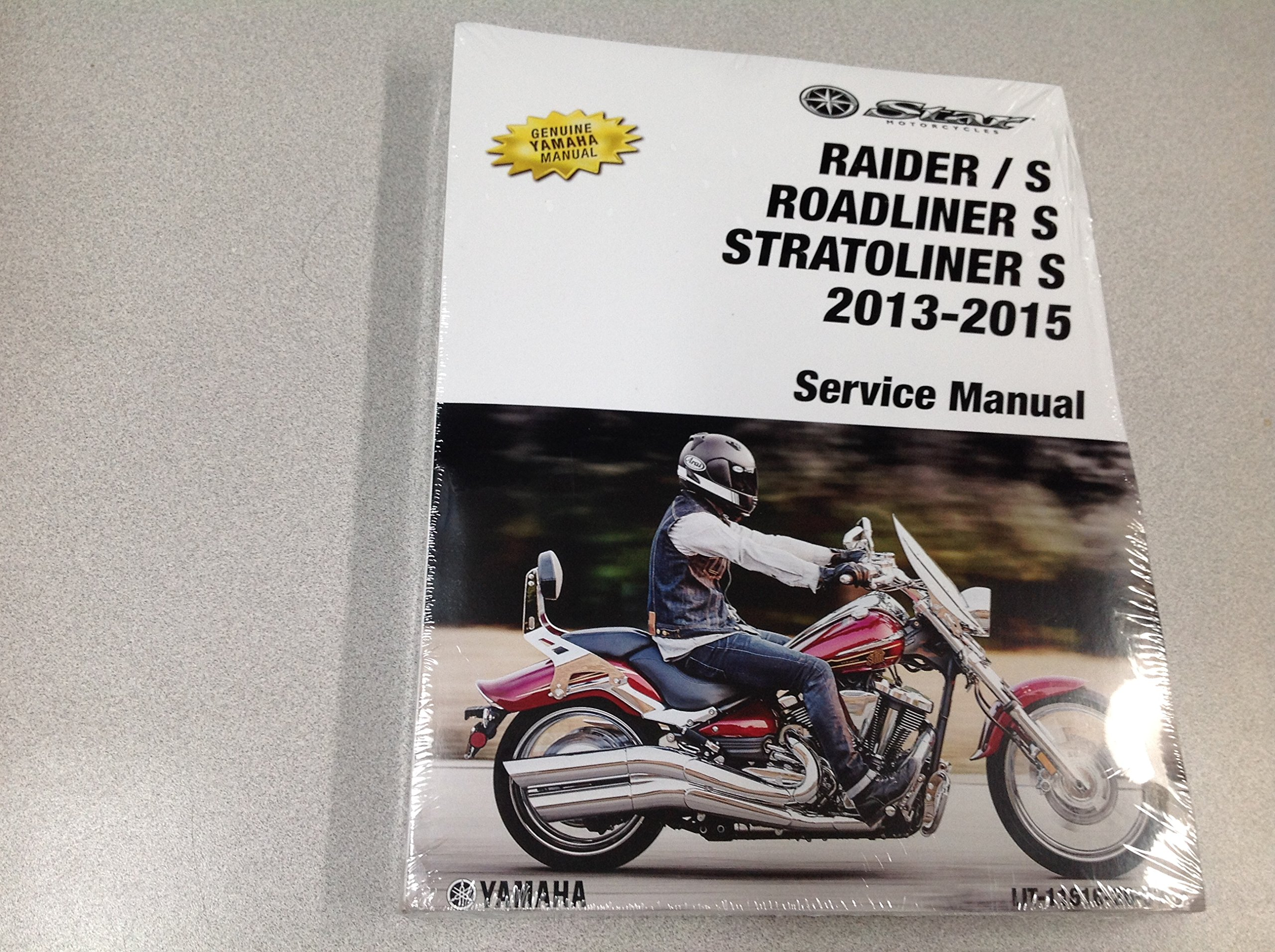 2013 2014 2015 Yamaha Raider Models Stratoliner Roadliner Models Service  Shop Manual: YAMAHA: Amazon.com: Books