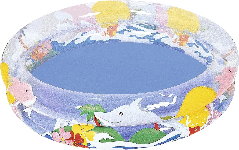 Bestway - Delfines, Piscina Hinchable, 91 x 20 cm (51012000)