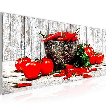 Bilder Küche - Gemüse Wandbild Vlies - Leinwand Bild XXL Format ...
