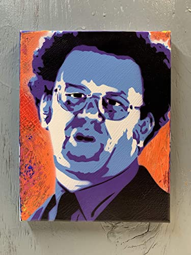 John C Reilly Painting on Stretched Canvas 8×10 Inches
