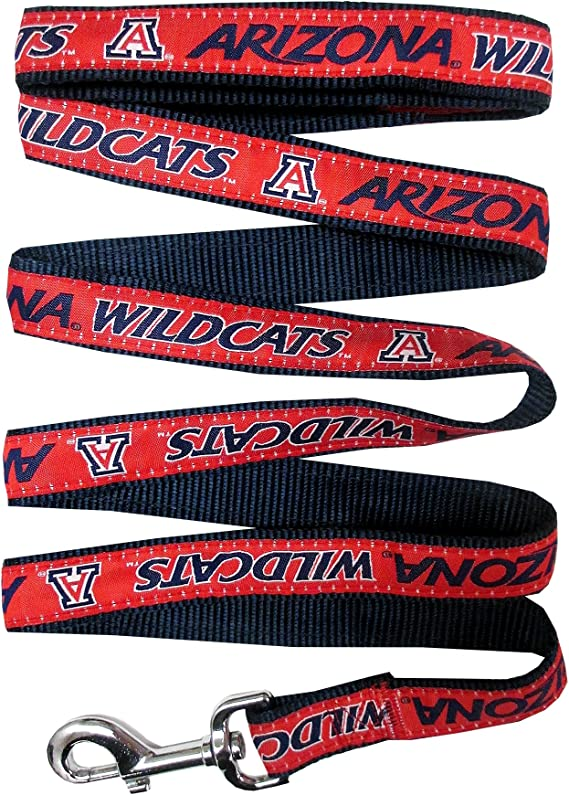 Personalized for Your Pet Arizona Wildcats Retractable Dog Walking Leash Officially Licensed
