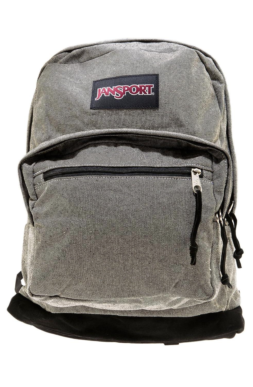 Jansport - Unisex-Adult Right Pack Expressions Backpack Weiß   Schwarz ZWeißarbig, Twill Standard