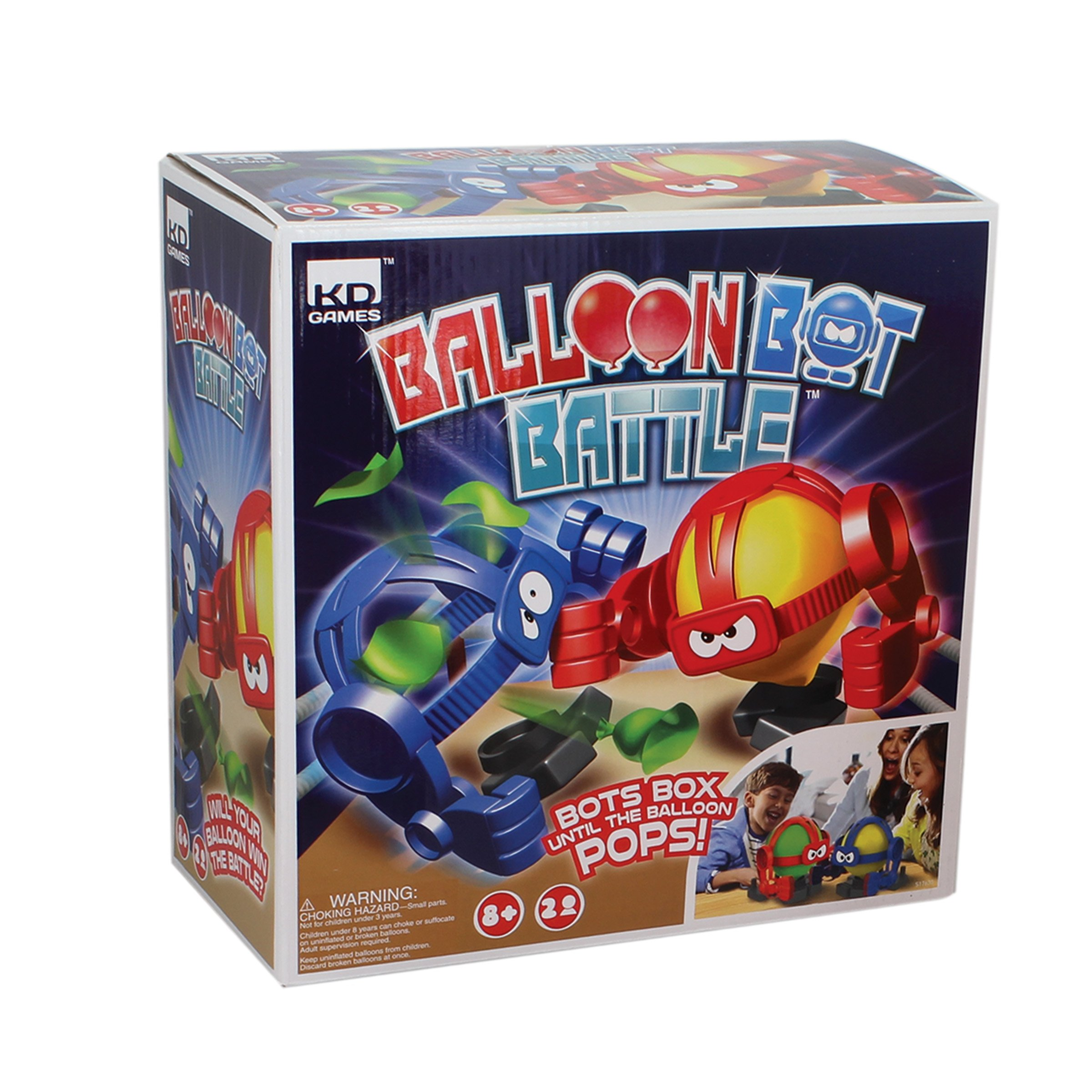 KD Kids Balloon Bot Battle Family Game by KD Kids