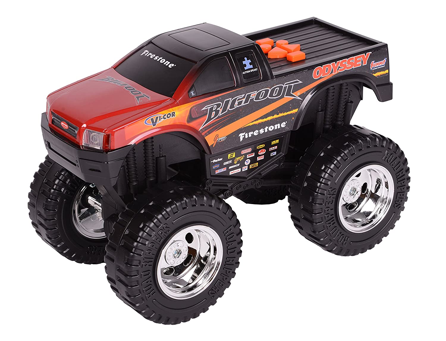 amazon com toy state road rippers light and sound 10
