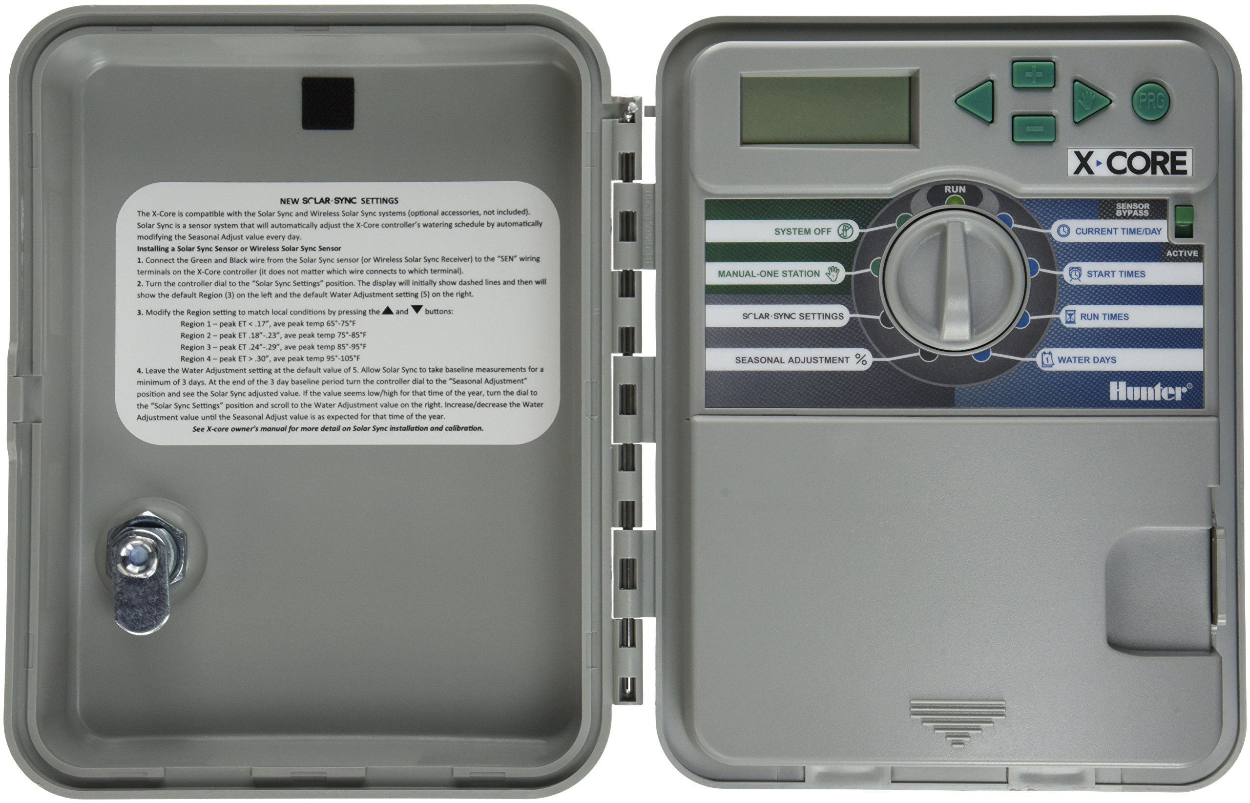 Hunter 8 Station X-Core Outdoor Sprinkler System Controller XC-800