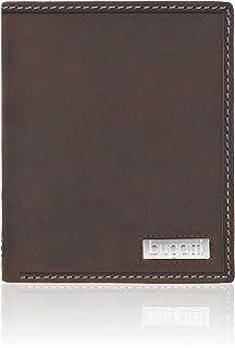 bugatti Quito Hochformat Geldbörse Portemonnaie Herren Leder 10,5 cm schwarz