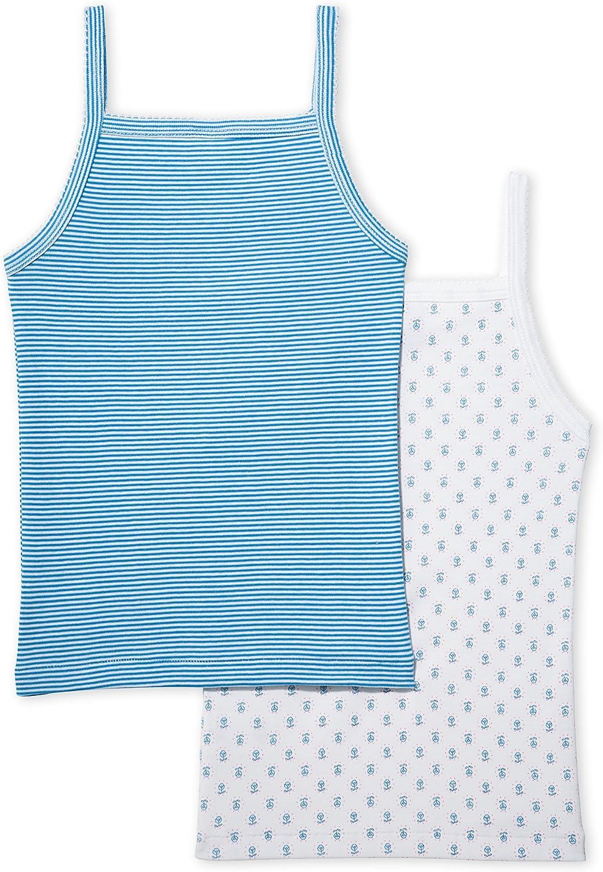 2er Pack Petit Bateau M/ädchen Unterhemden