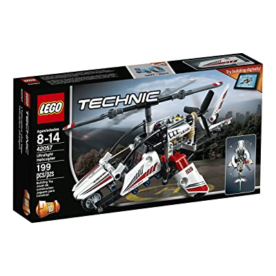 LEGO Technic Ultralight Helicopter 42057 Advance Building Set: Toys & Games