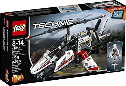 LEGO Technic Ultralight Helicopter 42057 Advance Building Set