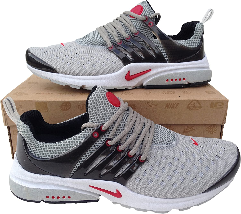 Nike Air Presto Grey Black Red Mens