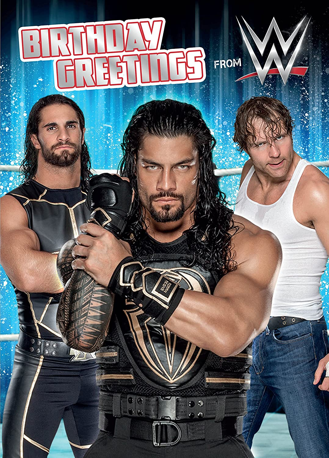 Wwe Sound Greeting Card Amazon Office Products