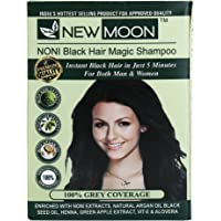New Moon Noni Natural Black Hair Dye Color (30 ML 10 PIECES)