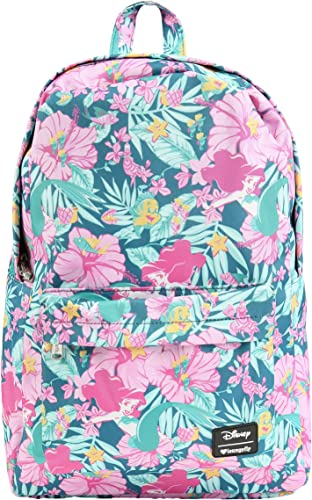Loungefly Disney's The Little Mermaid Pastel Print Backpack Standard
