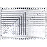 "QuiltCut Strip Savvy XL Slotted Quilting Ruler, QC1-XL - Extra Large (24"" x 17"")"
