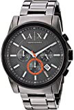Armani Exchange Men's Chronograph Gunmetal-Tone Stainless Steel Watch AX2514