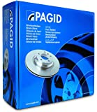 Pagid T3093 Brake Pad Set, Disc Brake
