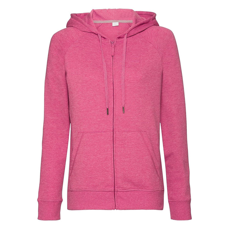 Russell Womens/Ladies HD Zip Hooded Sweatshirt