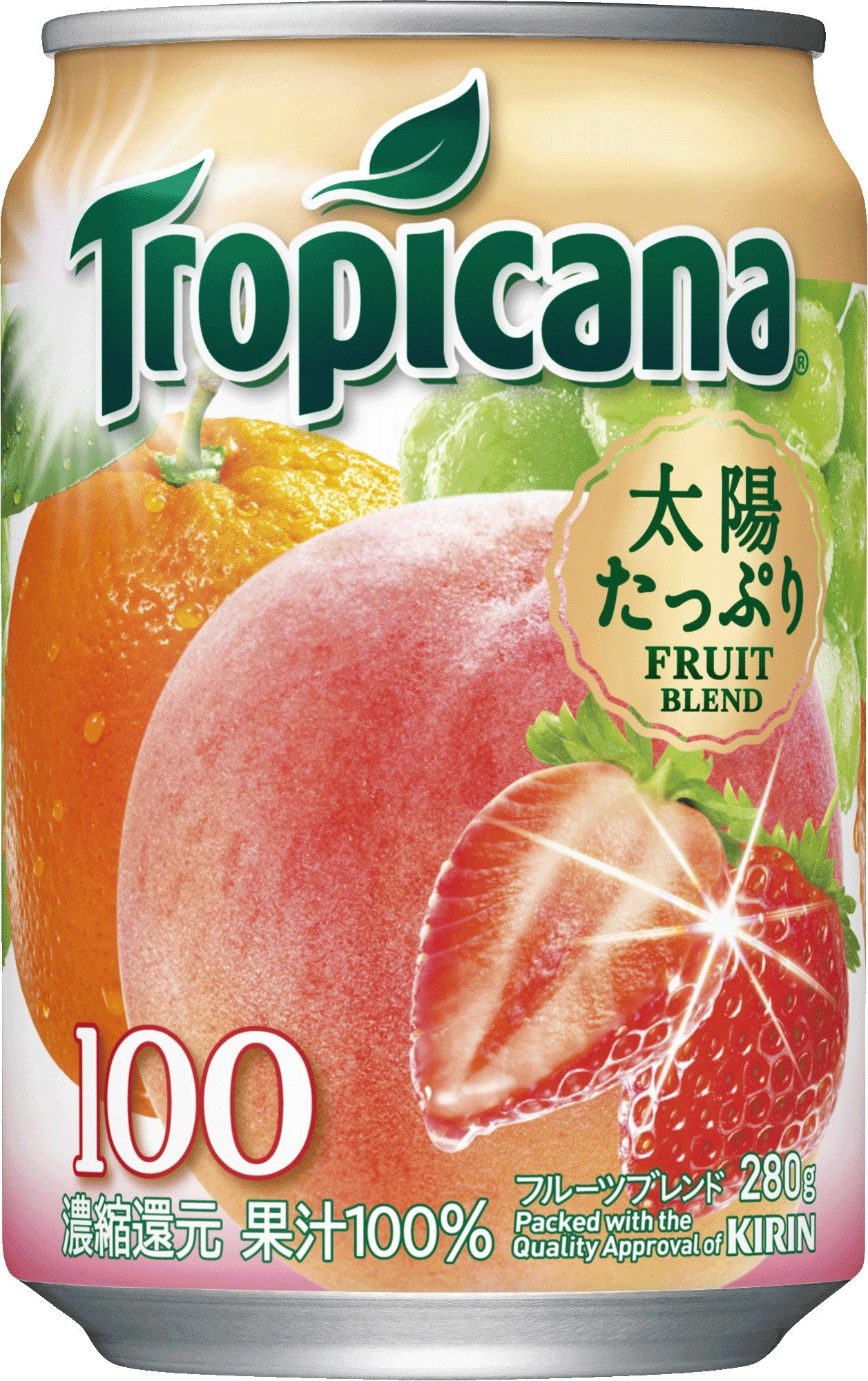 Tropicana 100% this fruit blend 280gX24