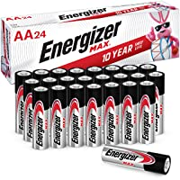 Energizer AA Batteries Double A Max Alkaline Battery, 24 Count