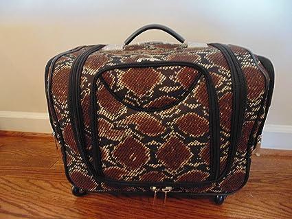 bdee2837af60 Deluxe Weekender Bag w Telescoping Handle By Lori Greiner  Amazon.ca  Home    Kitchen