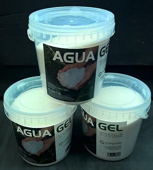 NOVINGRECONS Agua Gel - Formato Jardin/Huerto. Retenedor Agua ...