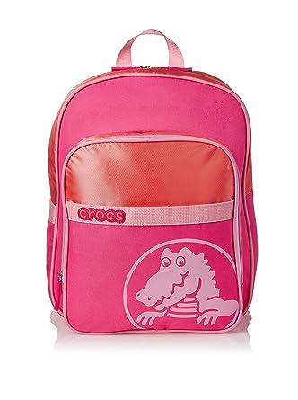 20a1aeca6a29ca Amazon.com  Crocs Duke Backpack Backpack Neon Magenta Carnation One ...