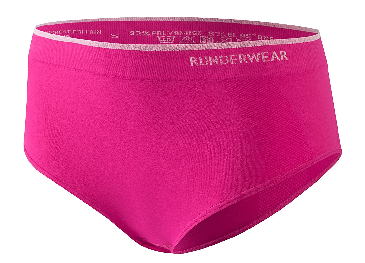 Runderwear Women's Hipster **2 Pair Pack**   Chafe-Free Performance Underwear with Seamless Technology RB0129-X2