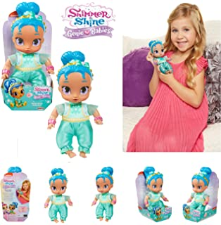 Amazon Com Nickelodeon New Shimmer And Shine Genie Babies Shimmer