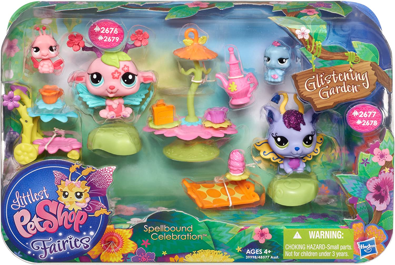 Littlest Pet Shop Fairies Glistening Garden Spellbound Celebration Playset