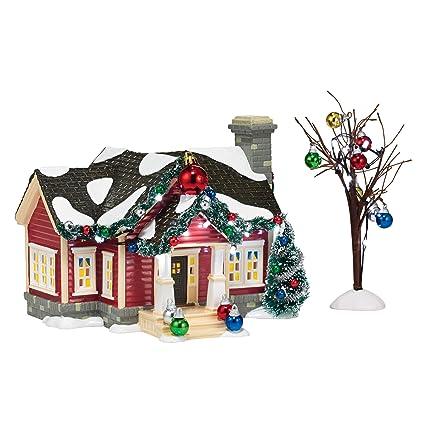department 56 snow village the ornament house