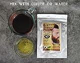 1 Pack of Light Brown Henna Beard Dye for Men