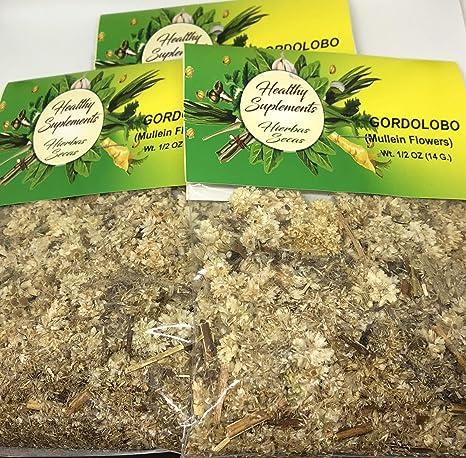Gordolobo Hierba Tea 1/2 oz 14 G: Amazon.com: Grocery ...