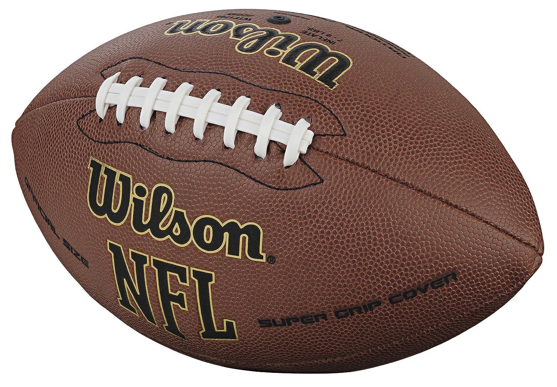 amazon com wilson nfl super grip official football sports outdoors