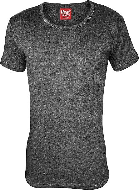 HEAT HOLDERS - Hombre Algodon Invierno Manga Corta Camiseta ...